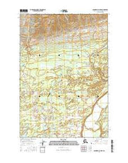 Anchorage C-6 NW Alaska Current topographic map, 1:25000 scale, 7.5 X 7.5 Minute, Year 2016 from Alaska Maps Store