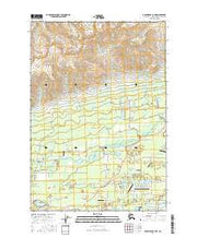 Anchorage C-7 NE Alaska Current topographic map, 1:25000 scale, 7.5 X 7.5 Minute, Year 2016 from Alaska Maps Store