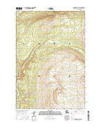 Anchorage D-8 NE Alaska Current topographic map, 1:25000 scale, 7.5 X 7.5 Minute, Year 2016 from Alaska Map Store