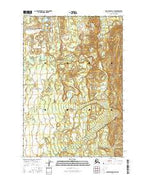 Anchorage D-8 NW Alaska Current topographic map, 1:25000 scale, 7.5 X 7.5 Minute, Year 2016 from Alaska Map Store
