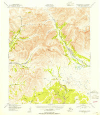 Bendeleben A-4 Alaska Historical topographic map, 1:63360 scale, 15 X 15 Minute, Year 1950