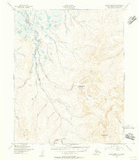 Bendeleben D-6 Alaska Historical topographic map, 1:63360 scale, 15 X 15 Minute, Year 1950