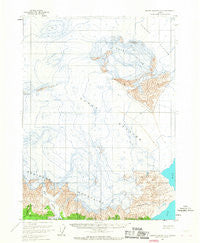 Bering Glacier A-2 Alaska Historical topographic map, 1:63360 scale, 15 X 15 Minute, Year 1959