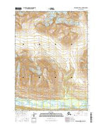 Bering Glacier D-6 NE Alaska Current topographic map, 1:25000 scale, 7.5 X 7.5 Minute, Year 2016 from Alaska Map Store