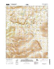 Bettles B-3 NW Alaska Current topographic map, 1:25000 scale, 7.5 X 7.5 Minute, Year 2016 from Alaska Maps Store