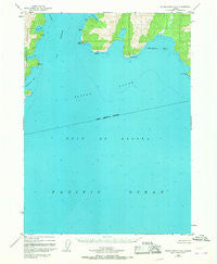 Blying Sound D-6 Alaska Historical topographic map, 1:63360 scale, 15 X 15 Minute, Year 1950