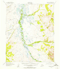 Candle C-6 Alaska Historical topographic map, 1:63360 scale, 15 X 15 Minute, Year 1950
