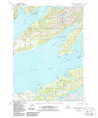 Cordova C-6 Alaska Historical topographic map, 1:63360 scale, 15 X 15 Minute, Year 1950