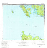 Dixon Entrance Alaska Historical topographic map, 1:250000 scale, 1 X 2 Degree, Year 1959