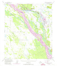Fairbanks C-1 Alaska Historical topographic map, 1:63360 scale, 15 X 15 Minute, Year 1950