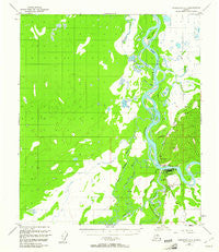Fairbanks C-5 Alaska Historical topographic map, 1:63360 scale, 15 X 15 Minute, Year 1950