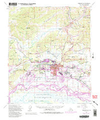 Fairbanks D-2 Alaska Historical topographic map, 1:63360 scale, 15 X 15 Minute, Year 1954