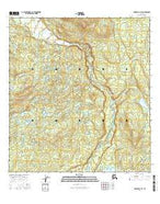 Gulkana D-3 SE Alaska Current topographic map, 1:25000 scale, 7.5 X 7.5 Minute, Year 2016 from Alaska Map Store