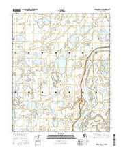 Harrison Bay A-3 SW Alaska Current topographic map, 1:25000 scale, 7.5 X 7.5 Minute, Year 2016 from Alaska Maps Store
