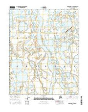 Harrison Bay B-2 SW Alaska Current topographic map, 1:25000 scale, 7.5 X 7.5 Minute, Year 2016 from Alaska Maps Store