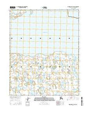 Harrison Bay B-3 NW Alaska Current topographic map, 1:25000 scale, 7.5 X 7.5 Minute, Year 2016 from Alaska Maps Store
