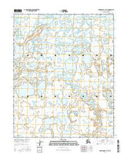 Harrison Bay B-3 SE Alaska Current topographic map, 1:25000 scale, 7.5 X 7.5 Minute, Year 2016 from Alaska Maps Store