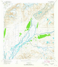 Healy B-1 Alaska Historical topographic map, 1:63360 scale, 15 X 15 Minute, Year 1950