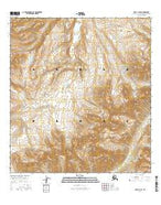 Healy A-5 SE Alaska Current topographic map, 1:25000 scale, 7.5 X 7.5 Minute, Year 2016 from Alaska Map Store