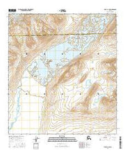 Healy B-1 NE Alaska Current topographic map, 1:25000 scale, 7.5 X 7.5 Minute, Year 2016 from Alaska Maps Store