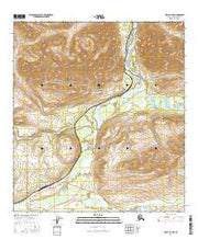 Healy B-4 NW Alaska Current topographic map, 1:25000 scale, 7.5 X 7.5 Minute, Year 2016 from Alaska Maps Store