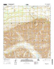 Healy B-4 SW Alaska Current topographic map, 1:25000 scale, 7.5 X 7.5 Minute, Year 2016 from Alaska Maps Store