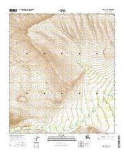 Healy D-1 NE Alaska Current topographic map, 1:25000 scale, 7.5 X 7.5 Minute, Year 2016 from Alaska Maps Store