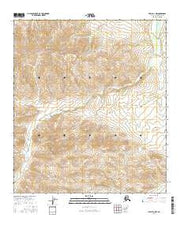 Healy D-1 NW Alaska Current topographic map, 1:25000 scale, 7.5 X 7.5 Minute, Year 2016 from Alaska Maps Store