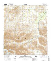 Healy D-1 SE Alaska Current topographic map, 1:25000 scale, 7.5 X 7.5 Minute, Year 2016 from Alaska Maps Store