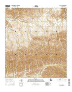 Healy D-3 NW Alaska Current topographic map, 1:25000 scale, 7.5 X 7.5 Minute, Year 2016 from Alaska Map Store