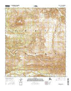 Healy D-4 NE Alaska Current topographic map, 1:25000 scale, 7.5 X 7.5 Minute, Year 2016 from Alaska Map Store