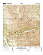 Healy D-4 NW Alaska Current topographic map, 1:25000 scale, 7.5 X 7.5 Minute, Year 2016 from Alaska Map Store