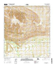Healy D-5 NW Alaska Current topographic map, 1:25000 scale, 7.5 X 7.5 Minute, Year 2016 from Alaska Maps Store