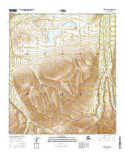 Healy D-6 SE Alaska Current topographic map, 1:25000 scale, 7.5 X 7.5 Minute, Year 2016 from Alaska Maps Store
