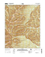 Hughes A-2 NE Alaska Current topographic map, 1:25000 scale, 7.5 X 7.5 Minute, Year 2016 from Alaska Map Store