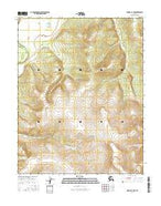 Hughes A-2 NW Alaska Current topographic map, 1:25000 scale, 7.5 X 7.5 Minute, Year 2016 from Alaska Map Store