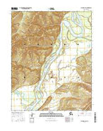 Hughes A-3 NE Alaska Current topographic map, 1:25000 scale, 7.5 X 7.5 Minute, Year 2016 from Alaska Map Store