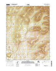 Hughes B-5 NE Alaska Current topographic map, 1:25000 scale, 7.5 X 7.5 Minute, Year 2016 from Alaska Maps Store