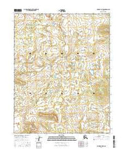Hughes B-5 NW Alaska Current topographic map, 1:25000 scale, 7.5 X 7.5 Minute, Year 2016 from Alaska Maps Store