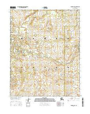 Hughes B-6 NE Alaska Current topographic map, 1:25000 scale, 7.5 X 7.5 Minute, Year 2016 from Alaska Maps Store