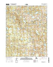 Hughes B-6 NW Alaska Current topographic map, 1:25000 scale, 7.5 X 7.5 Minute, Year 2016 from Alaska Maps Store