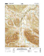 Hughes C-2 SE Alaska Current topographic map, 1:25000 scale, 7.5 X 7.5 Minute, Year 2016 from Alaska Map Store