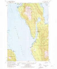 Juneau A-3 Alaska Historical topographic map, 1:63360 scale, 15 X 15 Minute, Year 1950