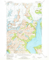 Juneau B-1 Alaska Historical topographic map, 1:63360 scale, 15 X 15 Minute, Year 1948