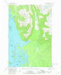 Juneau C-6 Alaska Historical topographic map, 1:63360 scale, 15 X 15 Minute, Year 1950