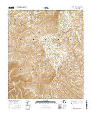 Kateel River A-1 SW Alaska Current topographic map, 1:25000 scale, 7.5 X 7.5 Minute, Year 2016 from Alaska Maps Store