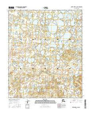 Kateel River A-2 NE Alaska Current topographic map, 1:25000 scale, 7.5 X 7.5 Minute, Year 2016 from Alaska Maps Store