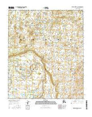 Kateel River A-2 SW Alaska Current topographic map, 1:25000 scale, 7.5 X 7.5 Minute, Year 2016 from Alaska Maps Store