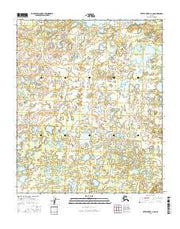 Kateel River A-3 NE Alaska Current topographic map, 1:25000 scale, 7.5 X 7.5 Minute, Year 2016 from Alaska Maps Store