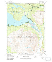 Kenai B-1 Alaska Historical topographic map, 1:63360 scale, 15 X 15 Minute, Year 1950